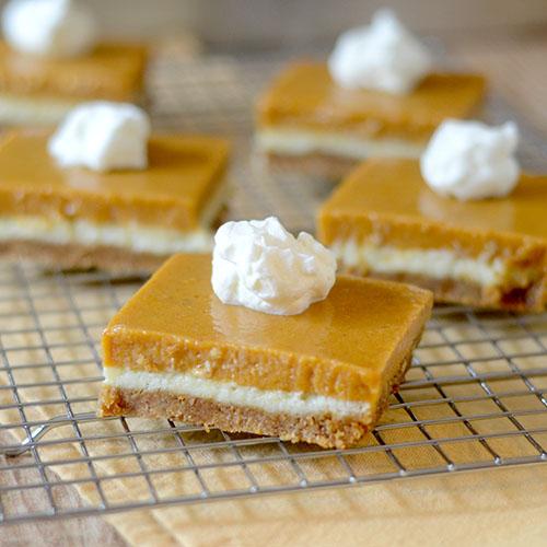 Pumpkin Dessert Bars Recipe: Feed Your Soul Too
