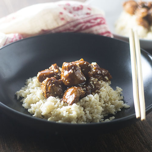 Easy Asian BBQ Chicken from Feed Your Soul Too