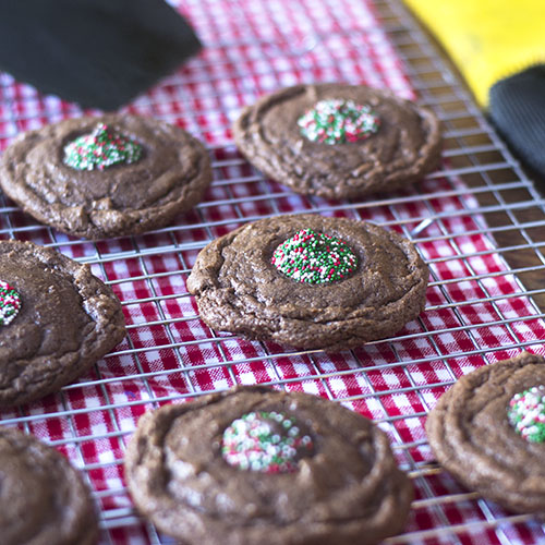 Gluten Free Chocolate Holiday Cookies from Feed Your Soul Too