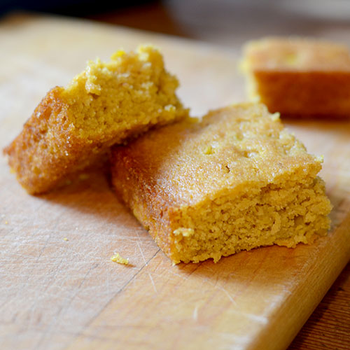 Pumpkin Honey Cornbread from Feed Your Soul Too