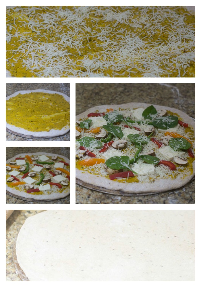 Building the Layers of the Pizza