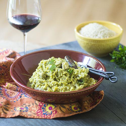 Healthy Chicken Biryani #chicken #glutenfree #Indianfood | feedyoursoul2.com