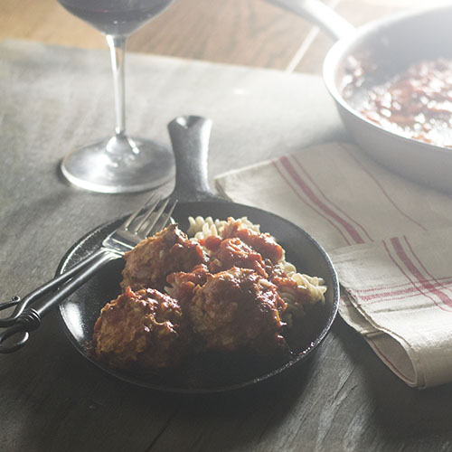 Harissa Spicy Moroccan Meatballs from Feed Your Soul Too