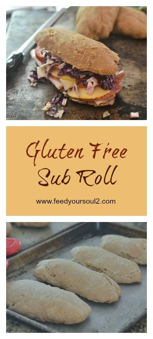 Gluten Free Sub Rolls #bread #glutenfree #roll #deli | feedyoursoul2.com
