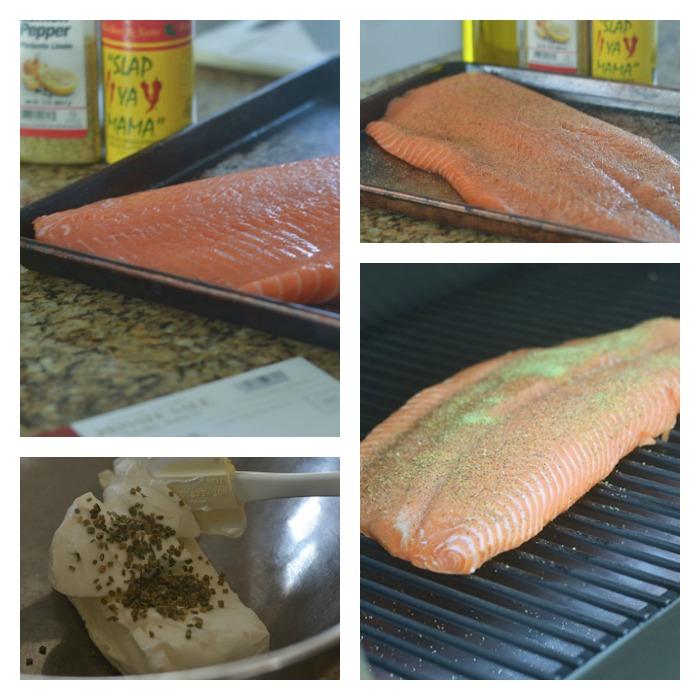 The Process of Smoking the Salmon
