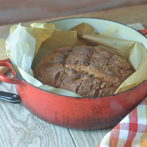 Gluten Free Flax Bread from Feed Your Soul Too