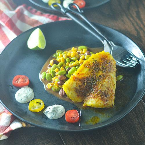 Pan Fried Cod #seafood #glutenfree #cod | feedyoursoul2.com