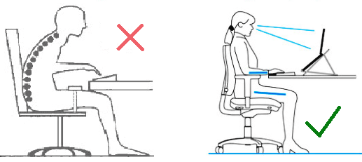 6 Ways To Prevent Neck Or Back Pain And Improve Your Desk