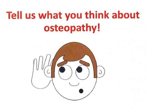 Take part in an osteopathy research project