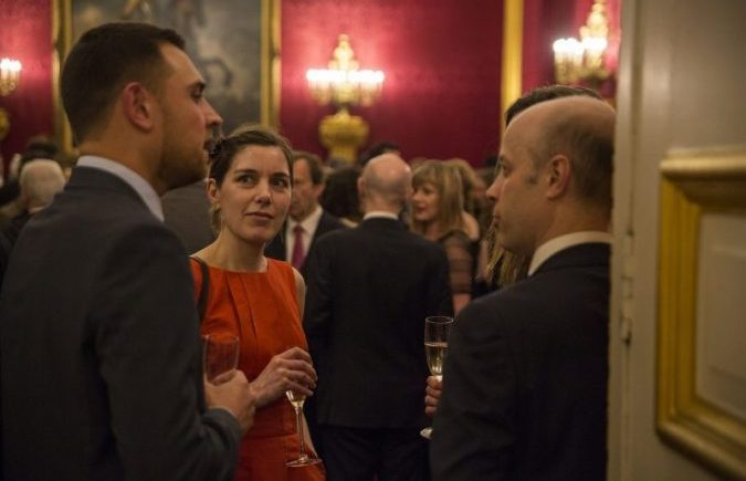 Feel Better Osteopathy osteopath Emma Lipson at St James's Palace