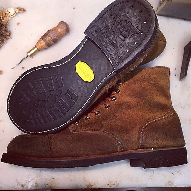 vibram boots replacement soles