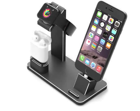 Aluminum Apple Watch Charging Stand AirPods Stand Charging