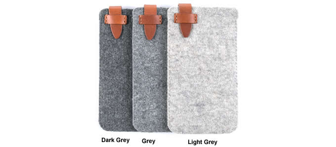 Wool Felt Protective Sleeve Bag Pocket Pouch Case for