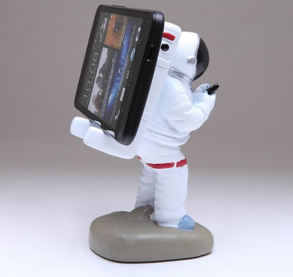 Astronaut Cell Phone Holder FeelGift