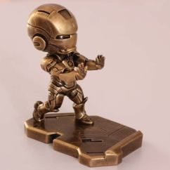 Old Wooden Desk Chair Wedding Covers Montreal Portable Iron Man Cell Phone Stand Holder - Feelgift