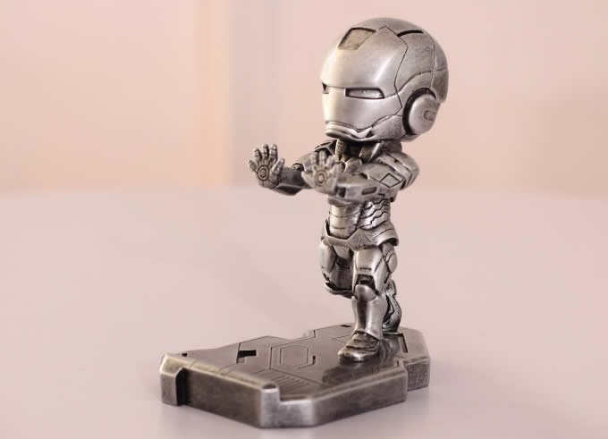 office chair accessories room essentials portable iron man desk cell phone stand holder - feelgift
