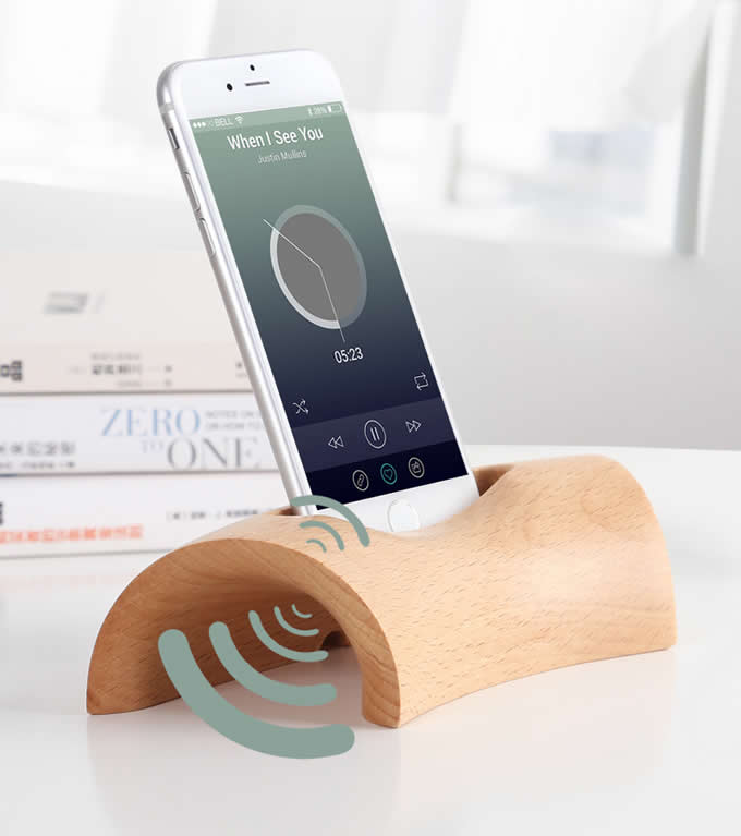 most comfortable chair for reading pottery barn swivel desk wooden cell phone charging dock, sound amplifier amplification stands iphone 77 ...