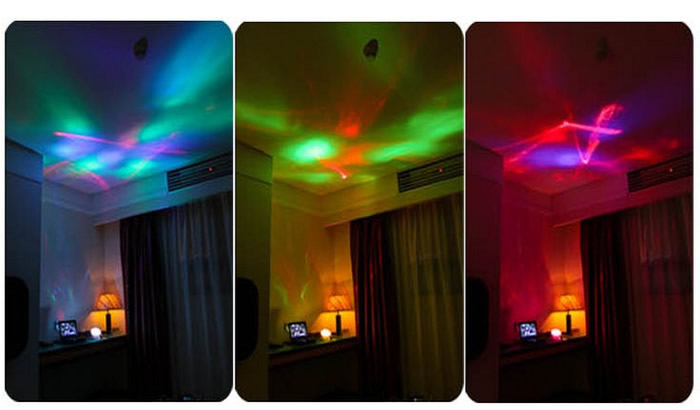Fashion Diamond Color Changing Projection Lamp Feelgift