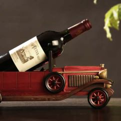 Beach Chair Cup Holder Double Lawn With Cooler Wooden Classic Car Wine Bottle - Feelgift