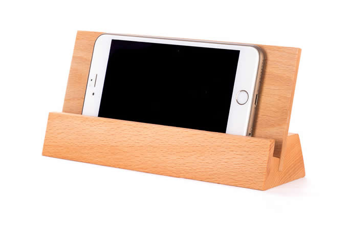 Wooden Cell Phone Stand Holder Place Card Holder Photo