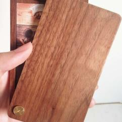Ipad Stand For Chair Kiddies Covers Hire Cape Town Slim Wooden Business Card Holder Case - Feelgift