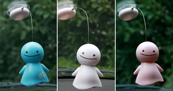 Solar Powered Bobblehead Nohohon Doll  FeelGift