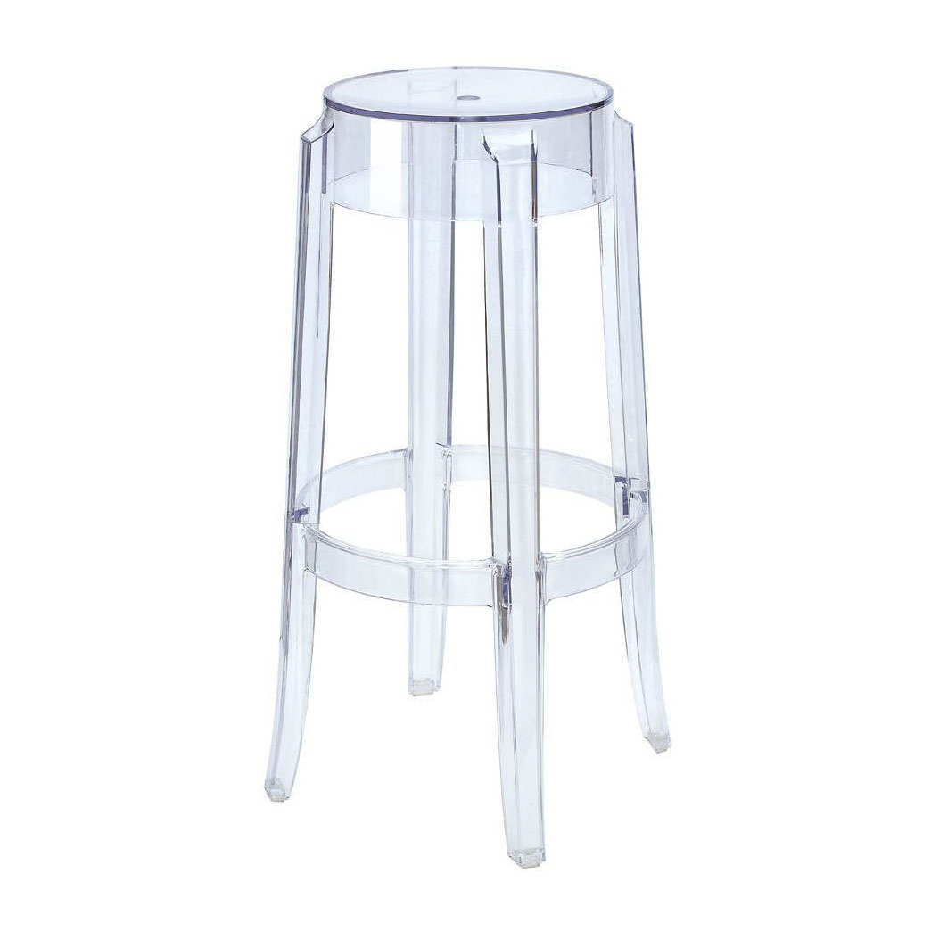 ghost bar chair polywood adirondack rocking chairs stool hire feel good events melbourne
