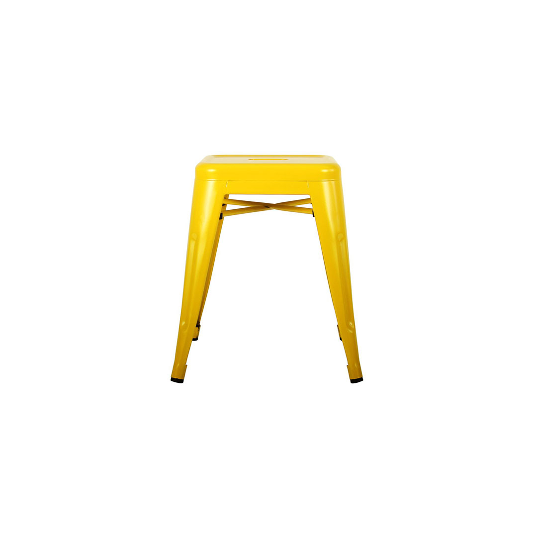 Small Yellow Bar Stool Hire