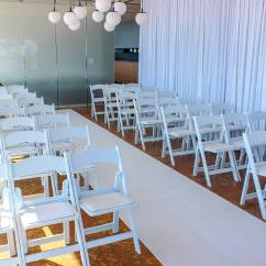 Wedding Chair Cover Hire Brighton Eddie Bauer Wooden High Replacement White Padded Chairs Feel Good Events Melbourne