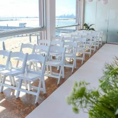 Wedding Chair Cover Hire Brighton Oak Slat Back Dining Chairs White Padded Feel Good Events Melbourne