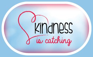 This is an image for Kindness Is Catching Banner