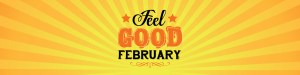 This is the banner image for Feel Good Feb