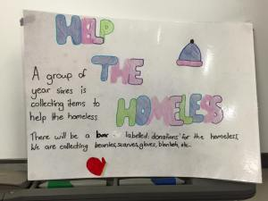 This is an image of Kindness Is Catching poster made by Year 6 students