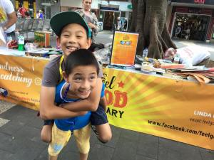 This is the image for Feel Good Feb Swap on The Corso, Manly