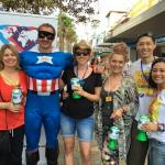This is the image of Captain Kindness and the BNI Middle Harbour crew