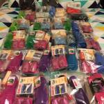 This is an image of Winter Care Kits donated from Emma