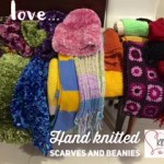 This is the image for Gorgeous hand knitted scarves and beanies