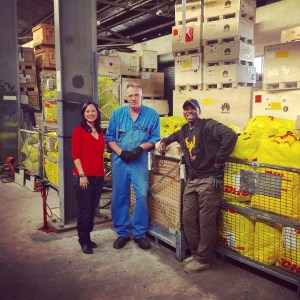 This is an image of the warehouse of Overseas Disaster Relief HQ