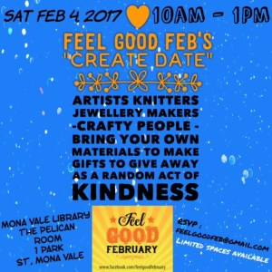 This is an image of Feel Good Feb's Create Date