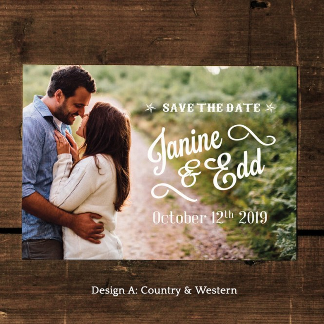 Photo Wedding Save The Dates Feel Good Invitations