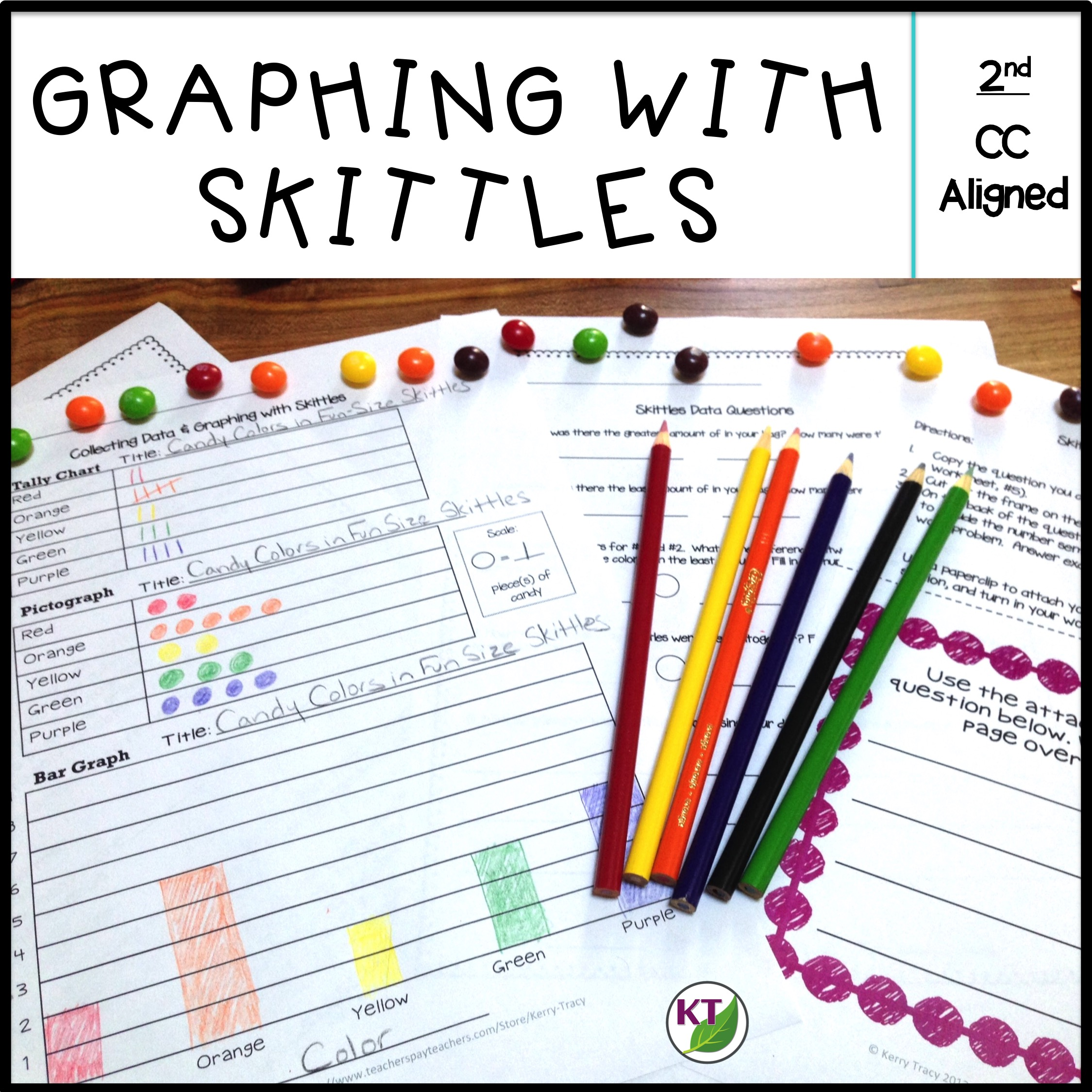 Graphing With Skittles Tally Marks Bar Graph Pictograph