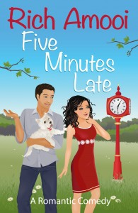 Five minutes late ebook cover