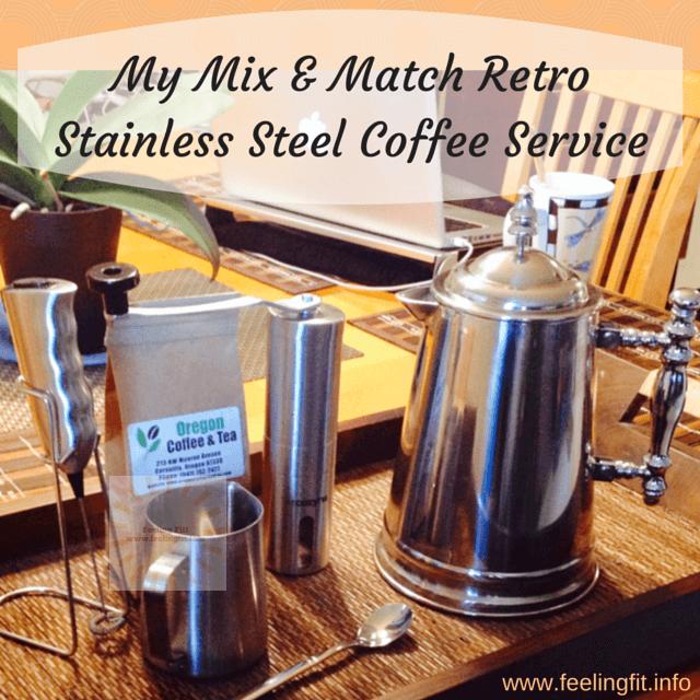 Mix and match retro coffee set