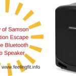 Review Samson Expedition Escape Bluetooth Speaker #SamsonSound