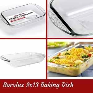 Borolux Baking Dish