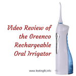 Greenco Professional Rechargeable Oral Irrigator #OralIrrigator