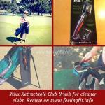 STIXX 3-in-1 Golf Club Cleaning Brush