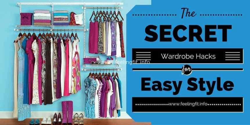 A round-up of easy wardrobe hacks for effortless style on www.feelingfit.info