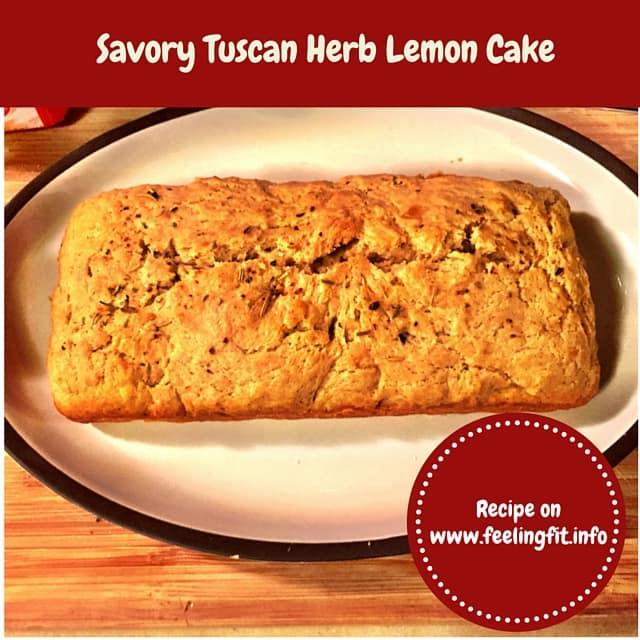 Tuscan Lemon Savory Cake