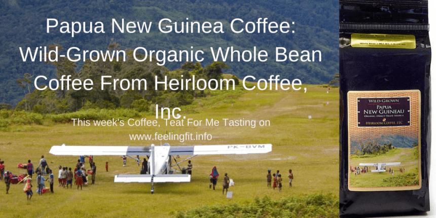 Papua New Guinea Coffee- Wild-Grown Organic